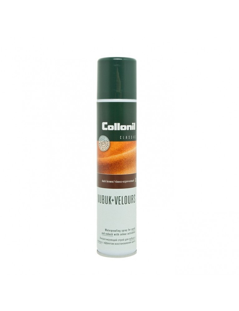 Аэрозоль Collonil Nubuk Velours темно-коричневый 200ml