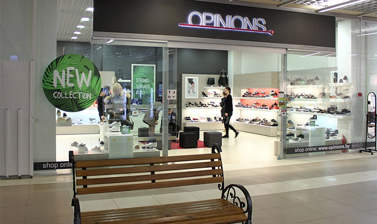 Фирменный магазин Opinions